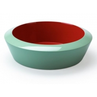 Saigon Lacquer Bowl S - Poppy Red
