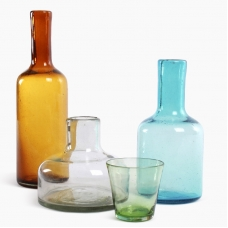 Cantel -3 Carafes/4 glasses